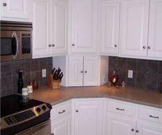 New Kitchen Corner Cupboard Appliance Garage Ideas Kitchen Cabinets Upper Corner, Kitchen Corner Cupboard, Best Kitchen Cabinets, Kitchen Redo, New Kitchen, Kitchen Storage, Corner Storage, Kitchen Pantry, Kitchen Ideas