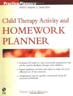 Child Therapy Activity and Homework Planner (PracticePlanners):Amazon:Books