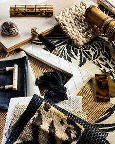 Elle decor furniture, black and gold furniture | Discover more at http://memoir.pt/inspirations/