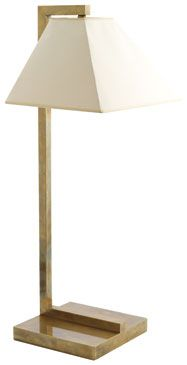 T2-025 Windermere pendant table lamp, distressed brass