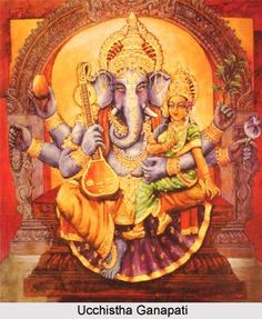 Ucchistha Ganapati, Form of Lord Ganesha