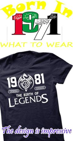 Made In 1971 - The Birth Of Legends