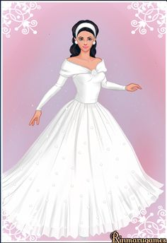 Unfortunately, in this dress up game wasn't possible choose narrow skirt.