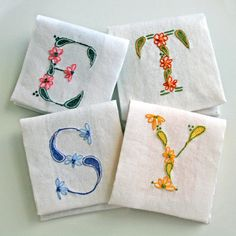 DIY pdf Crewel Embroidery Pattern Monogram O is by PrairieGarden