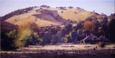 Autumn at Adelong - 120 x 80 © Copyright John Wilson Contemporary Landscape, Abstract Landscape, Landscape Paintings, Australian Painting, Australian Art, Impressionist Paintings, Oil Paintings, Cool Pictures, Beautiful Pictures