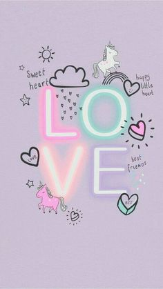 Pin by Dany on Wallpapers iPhone in 2019 Unicorn Wallpaper Cute, Cute Pastel Wallpaper, Cute Emoji Wallpaper, Cartoon Wallpaper Iphone, Rainbow Wallpaper, Pink Wallpaper Iphone, Iphone Background Wallpaper, Cute Disney Wallpaper, Love Wallpaper