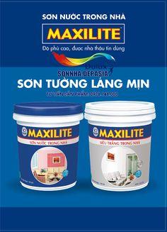 SONNHA.DEP.ASIA Bảng màu sơn Maxilite trong nhà