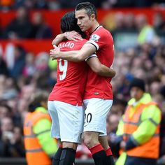 "RvP: ""It's been a pleasure playing with you my friend. Wishing you all the best for the future! @falcao"" 25.5.2015"