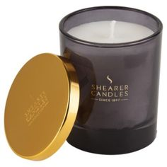 Shearer Amber Lily Filled candle