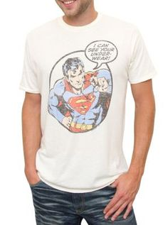 cda3b96ea6f3 Superman I Can See Your Underwear T-Shirt