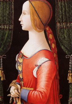 Conti de Bernardino Portrait of a lady