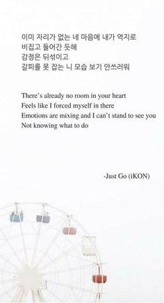 32 Ideas For Quotes Lyrics Kpop Ikon K Quotes, Song Lyric Quotes, Smile Quotes, Music Quotes, Best Quotes, Funny Quotes, The Words, Song Words, Ikon Songs