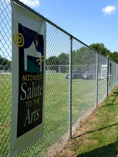 There were signs across Moody Park in Fairview Heights to welcome guests and sponsors to our event.  #MidwestSalute