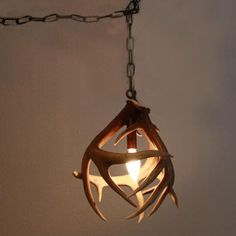 Real Whitetail Antler Pendant Light 239 40 Via Etsy