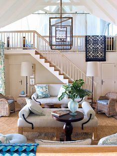coastal living room | Barry Dixon Interiors