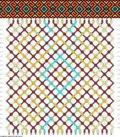 24 strings 24 rows 4 colors