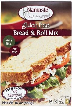 Save On Namaste 6X 16 Oz Bread and Roll Mix A Great Tasting Allergen-Free Bread In The Tradition Of Bread Like Your Grandmother Used To Make.: Gluten Free Nut Free (Note: This Product Description Is Informational Only. Always Check The Actual Product Label In Your Possession For The Most Accurate Ingredient Information Before Use. For Any Health Or Dietary Related Matter Always Consult Your Doctor Before Use.) Specialty Dietary Needs : NUT FREE Average Shelf Life from Manufacture date: 400