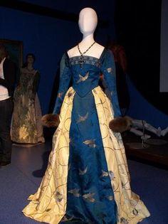 Katherine Howard Blue Gown