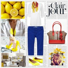 """Lemon with Zest"" by andreya-marie on Polyvore"