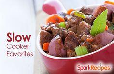 Our favorite (healthy) slow cooker recipes | via @SparkPeople #food #crockpot #dinner