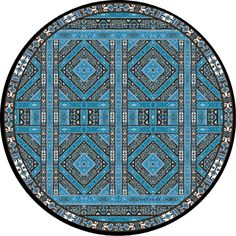 New Cotton Maxi RoundieMeditation Cushion by Mandala Living
