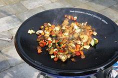 Mijn eerste skottelbraairecept: aardappel wokschotel!