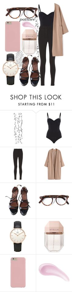 """""""271215"""" by patttiee ❤ liked on Polyvore featuring Wolford, Victoria Beckham, Alaïa, Cutler and Gross, Daniel Wellington, STELLA McCARTNEY and DuWop"""