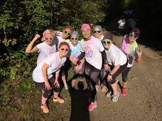 Our colorful team at Color run!