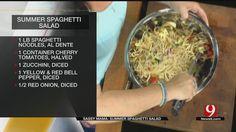Summer Spaghetti Salad - News9.com - Oklahoma City, OK - News, Weather, Video and Sports |