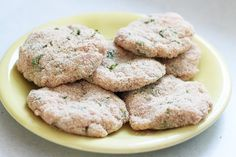 turkey burgers with herbs