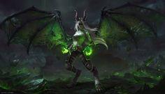 Fan art World of Warcraft réalisé par Astri Lohne Sjursen.
