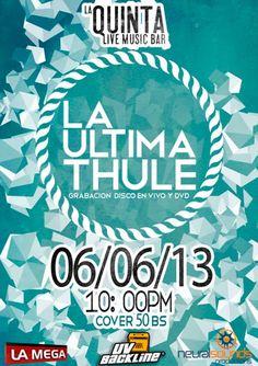 Cresta Metálica Producciones » Doble tanda de La Última Thule en La Quinta Bar este 06 y 07 Junio!!!