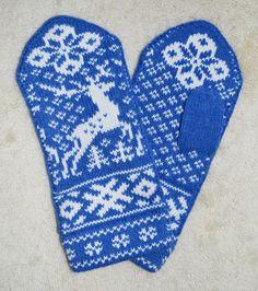 Norwegian Scandinavian hand crafted 100% Wool Mittens, folk art, Fair Isle