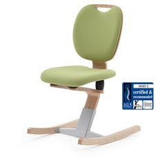 A Moizi Children Chair... German And Made Of Wood.