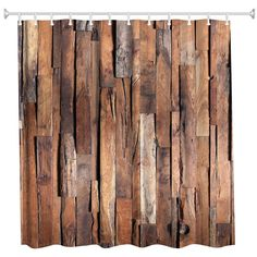 Old church door and marble antique wall Curtain Shower Bathroom Fabric 12hooks