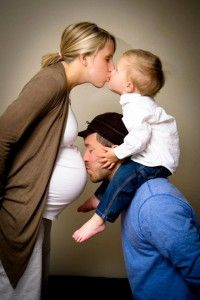 sweetest maternity pic ever! Maybe for the 2nd baby!
