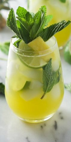 Sparkling Mint Pinea