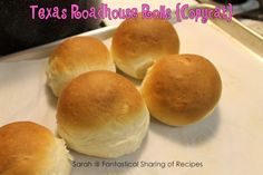 Fantastical Sharing of Recipes: Tasty Thursday #79: Texas Roadhouse Buns {Copycat}