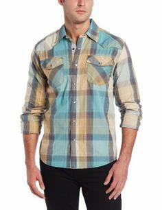 1351dae23f7 Levi s Men s Layton Plaid Shirt