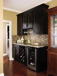 Put Extra Wall Space To Work With Aristokraft Cabinets Configured To  Provide Just What You Need