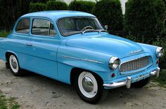 Škoda Octavia Super 1959 Henry Ford, Old Cars, Cars And Motorcycles, Techno, Vintage Cars, Super Cars, Classic Cars, Automobile, Blues