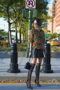 Korean Model Irene Kim at Givenchy show during New York Fashion Week 2016 Spring Summer NYFW