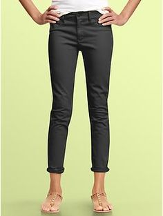 Gap 1969 mid-weight cropped legging jeans