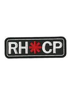 Red Hot Chili Peppers Logo Bar Patch,