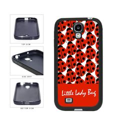 Little Lady Bug on Red Background With Lady Bugs TPU RUBBER Phone Case Back Cover Samsung Galaxy S4 I9500 includes BleuReign(TM) Cloth and Warranty Label. COMPATIBILITY: It is important to note that this case will ONLY FIT the Samsung Galaxy S4 I9500 Smartphone. Case will fit like a glove. COLOR: This case comes in a high quality color that will last the life of your phone. This is NOT a decal, skin or sticker. Our cases will not peel, fade or crack. We press the image onto a metal plate...