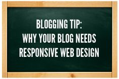 What is responsive web design and why does your blog need it?
