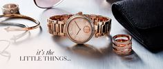 Watches - Michael Kors Little Things, Michael Kors Watch, Jewels, Watches, Rings, Shopping, Wrist Watches, Jewelery, Wristwatches