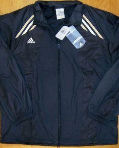 Adidas Jacket Black  Big Game ClimaLite Warm Up, sz M, NWT  $65    XY4 #adidas #CoatsJackets #Everyday