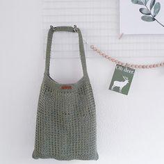 CutiePie Designs: Raw Linen Shopper (Patroon)