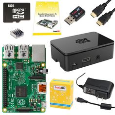 Amazon.com: CanaKit Raspberry Pi 2 Complete Starter Kit (9-Items): Computers & Accessories